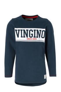 Vingino longsleeve Jacan met logo blauw
