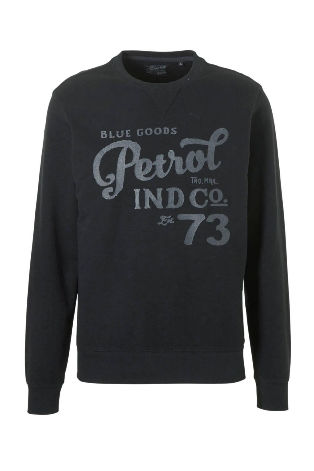 Petrol Industries sweater, Zwart