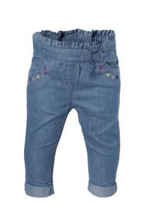 C&A Baby Club jeans met  borduursels blauw (meisjes)