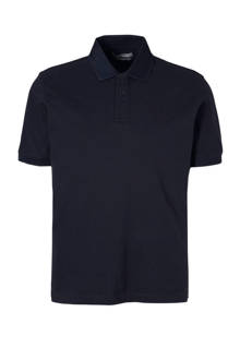 slim fit polo marine