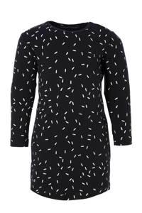 Your Wishes jurk Sprinkles zwart, Zwart/wit