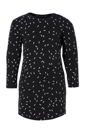 jurk Sprinkles zwart