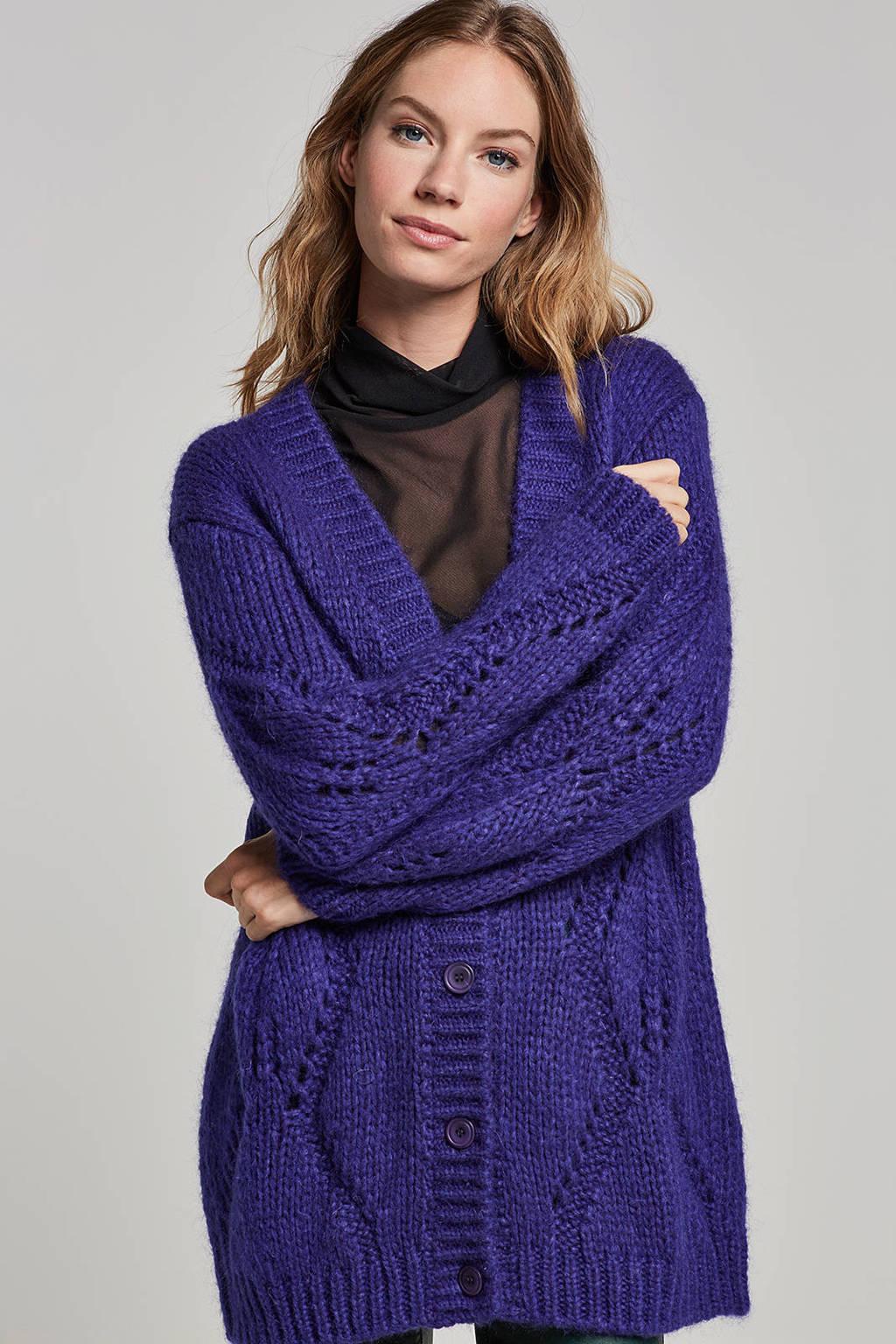 Summum Woman vest, Blauw