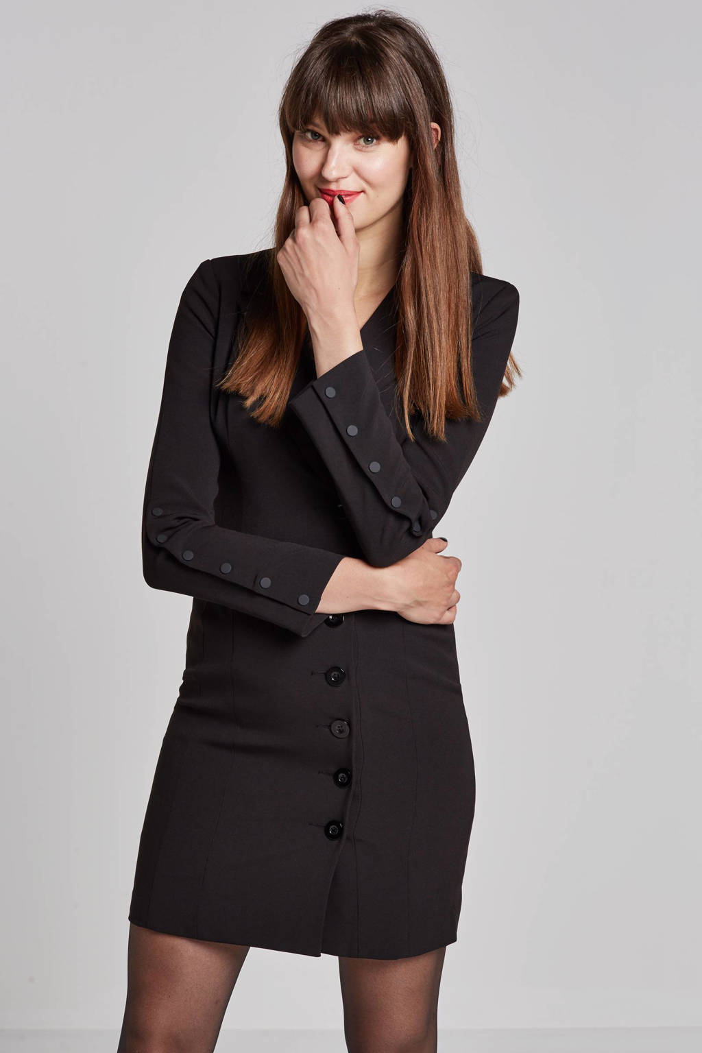 Freebird Jasmine jurk, Zwart