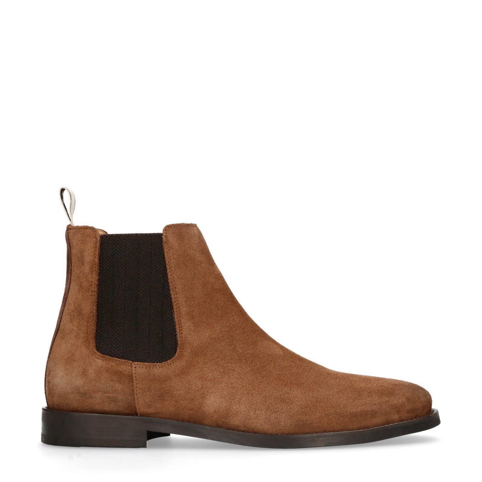 GANT suède chelsea boots Max | wehkamp