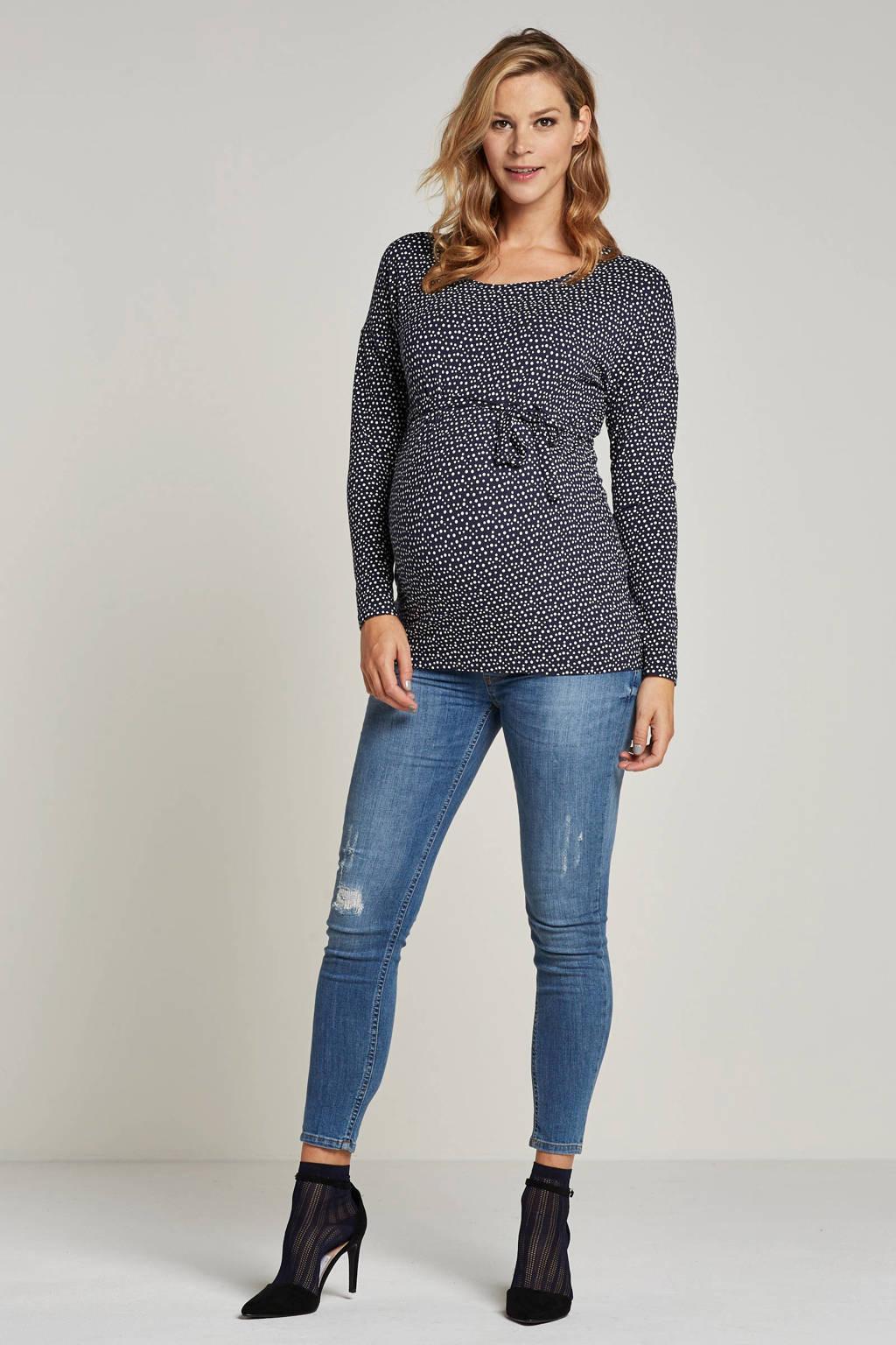 GeBe Maternity zwangerschapsjeans Bolt, Blauw