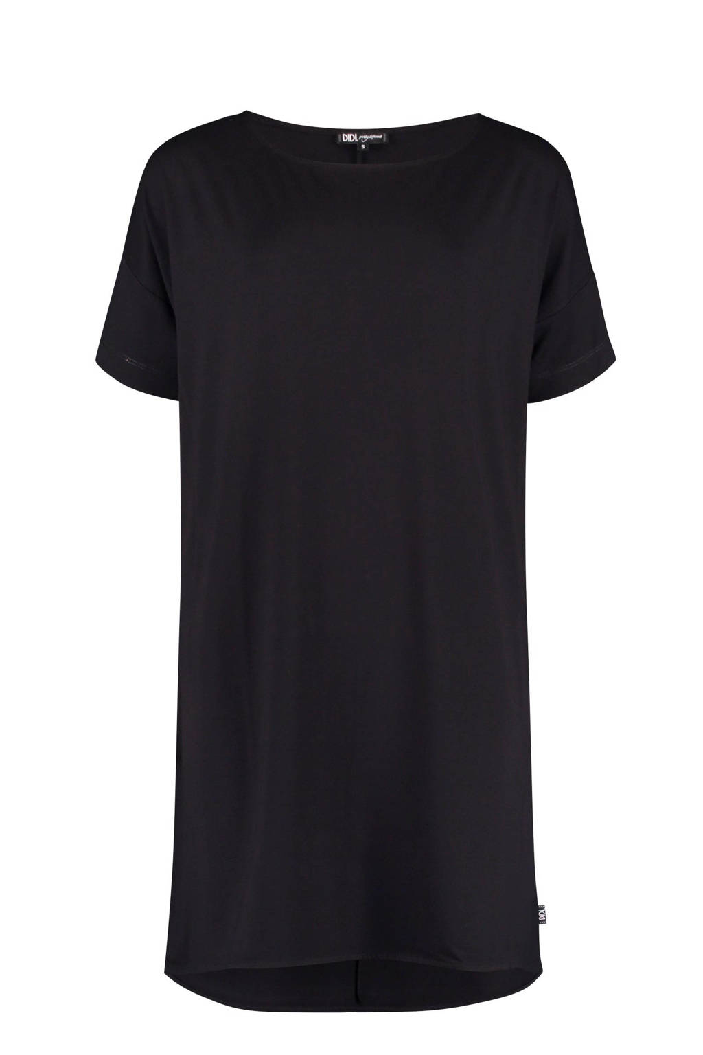 Didi A-lijn jurk zwart, Black