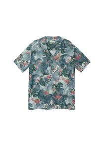 Mango Man overhemd met bloemenprint (heren)
