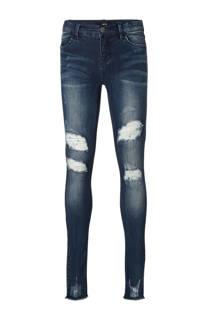 LMTD skinny jeans Pil Tori met slijtage details (meisjes)