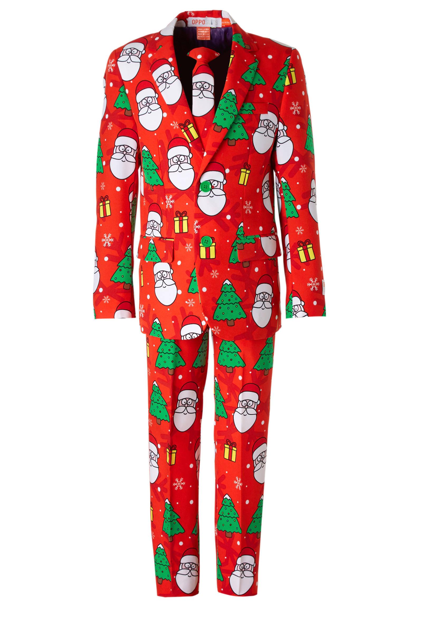 Opposuits Holiday Hero jongens kostuum + clipdas (jongens)