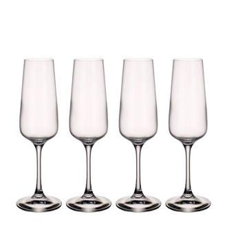 Ovid champagneglas (set van 4)