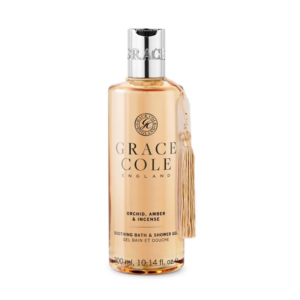 Grace Cole Signature Orchid, Amber & Incense 300ml douchegel