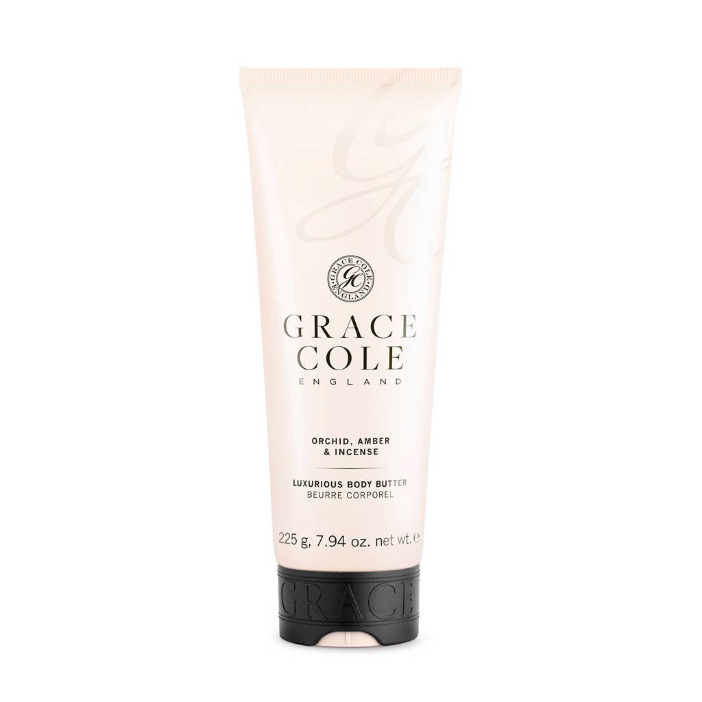 Grace Cole Signature Orchid, Amber & Incense 225g bodybutter