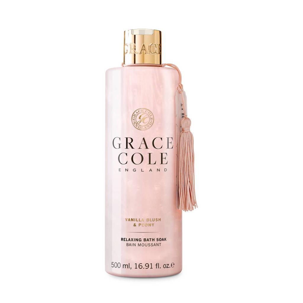 Grace Cole Signature Vanilla Blush & Peony 500ml badschuim