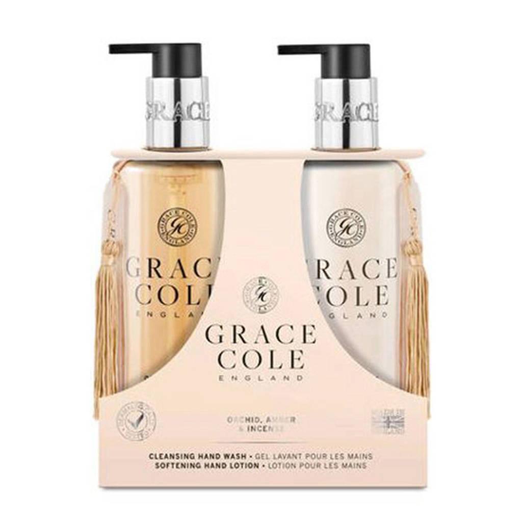 Grace Cole Signature Oud Accord & Velvet Musk 300ml Body Care Duo