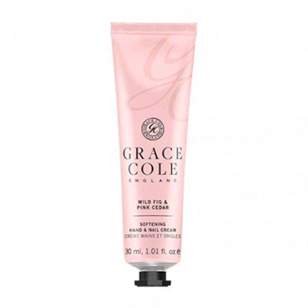 Grace Cole Signature Wild Fig & Pink Cedar 30ml Hand & Nail Cream