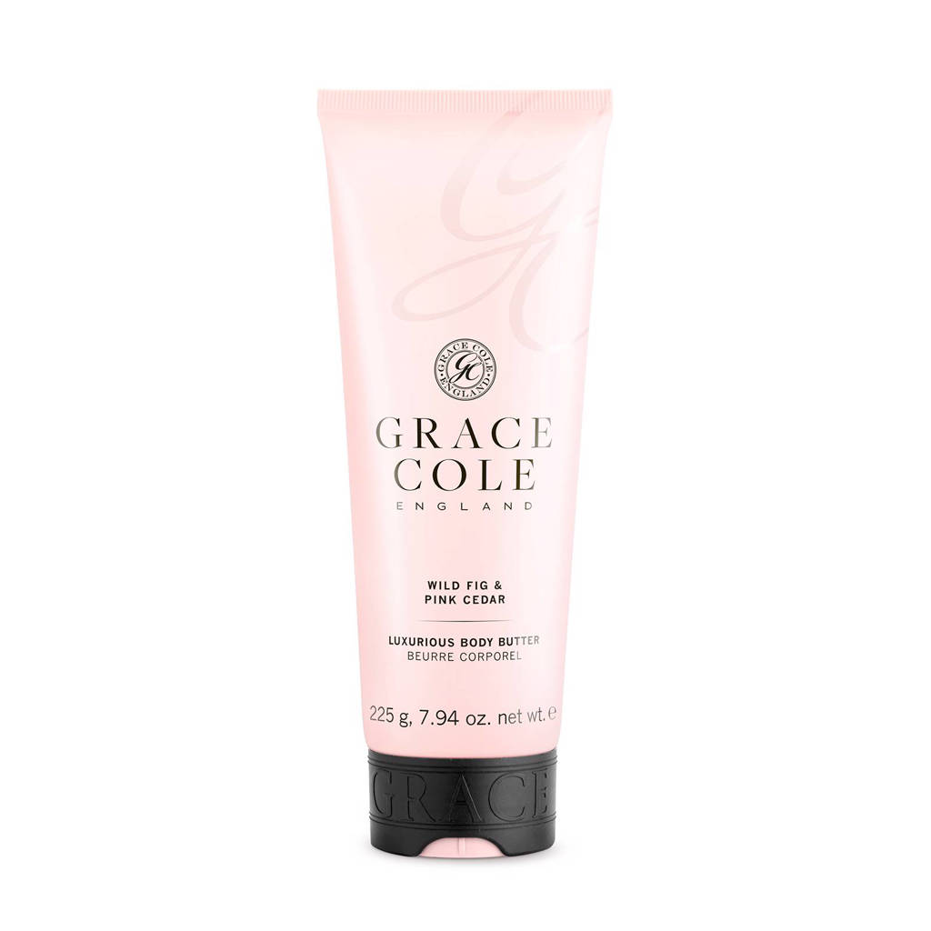 Grace Cole Signature Wild Fig and Pink Cedar 225g bodybutter
