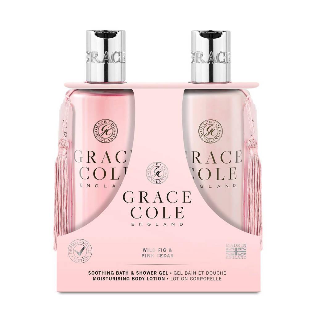 Grace Cole Signature Wild Fig & Pink Cedar 300ml geschenkset