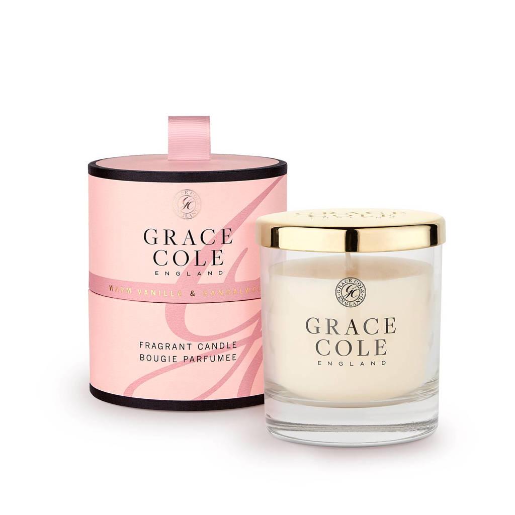 Grace Cole Signature Warm Vanilla & Sandalwood 200g geurkaas