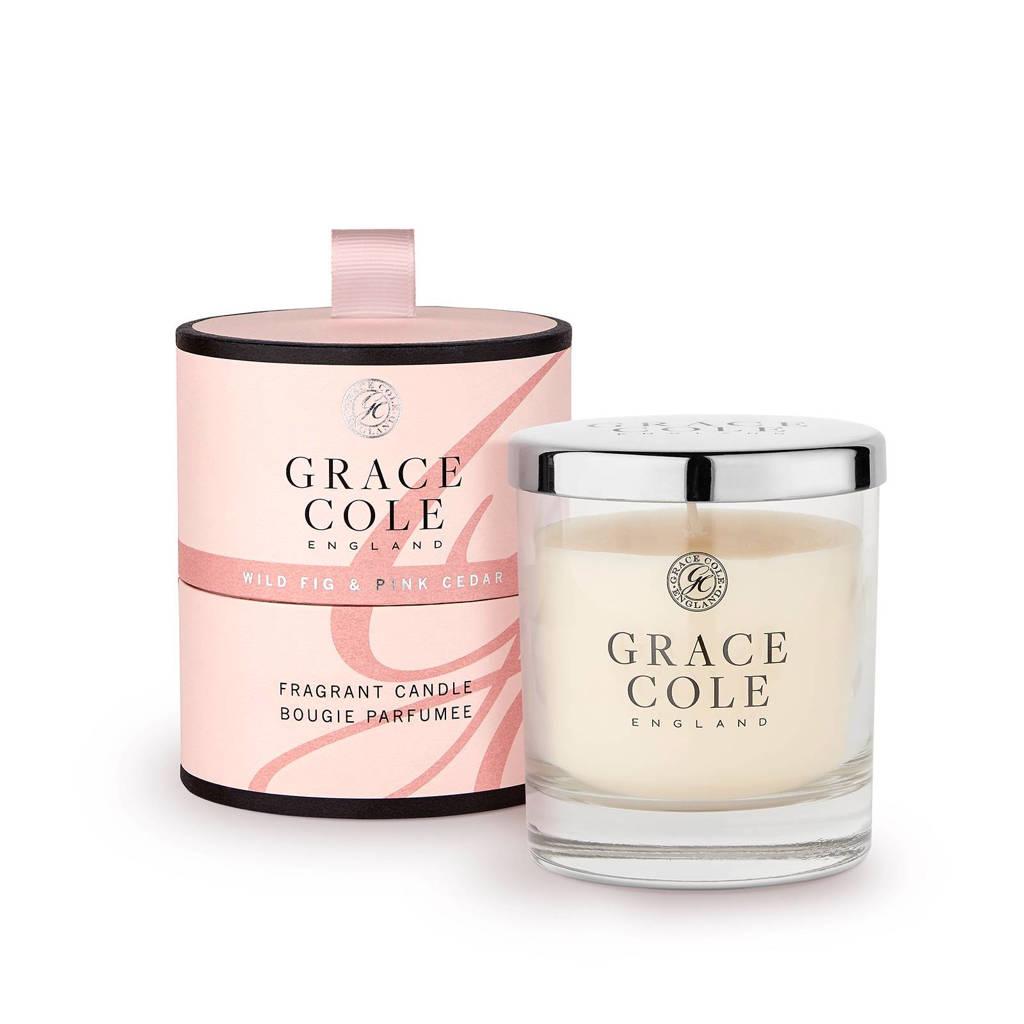 Grace Cole Signature Wild Fig and Pink Cedar 200g geurkaas