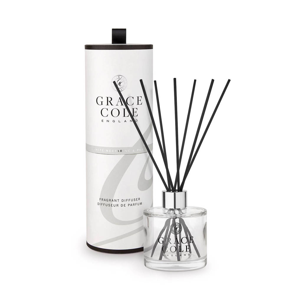 Grace Cole Signature White Nectarine and Pear 200ml geurstokjes
