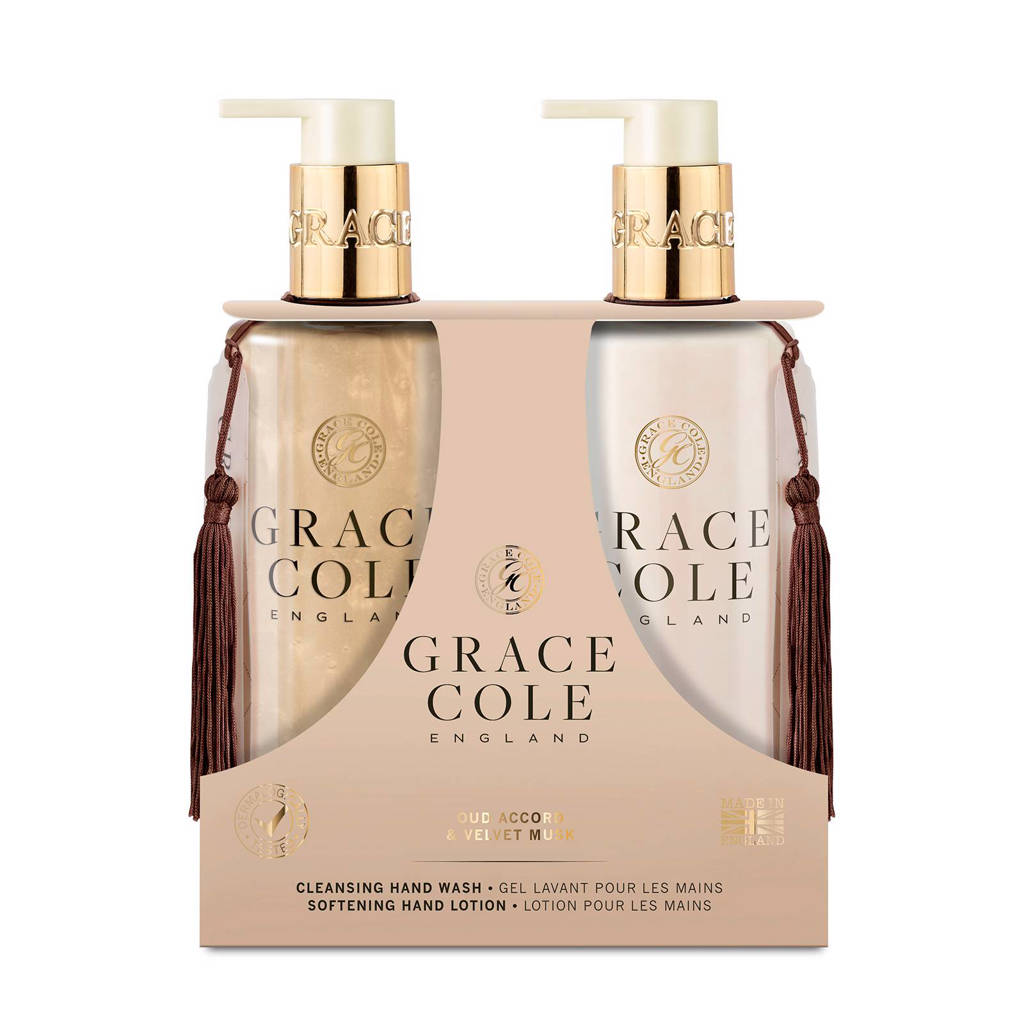 Grace Cole Signature Oud Accord & Velvet Musk 300ml Hand Care Duo