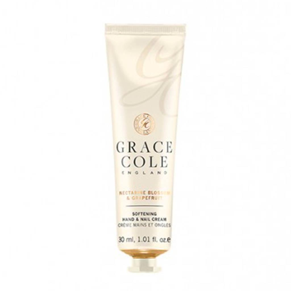 Grace Cole Signature Nectarine Blossom & Grapefruit 30ml Hand & Nail Cream