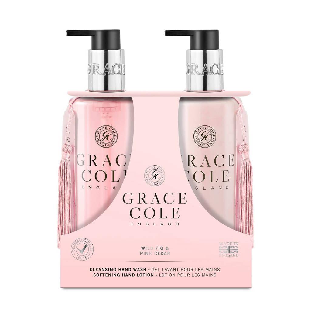 Grace Cole Signature Wild Fig & Pink Cedar 300ml Hand Care Duo