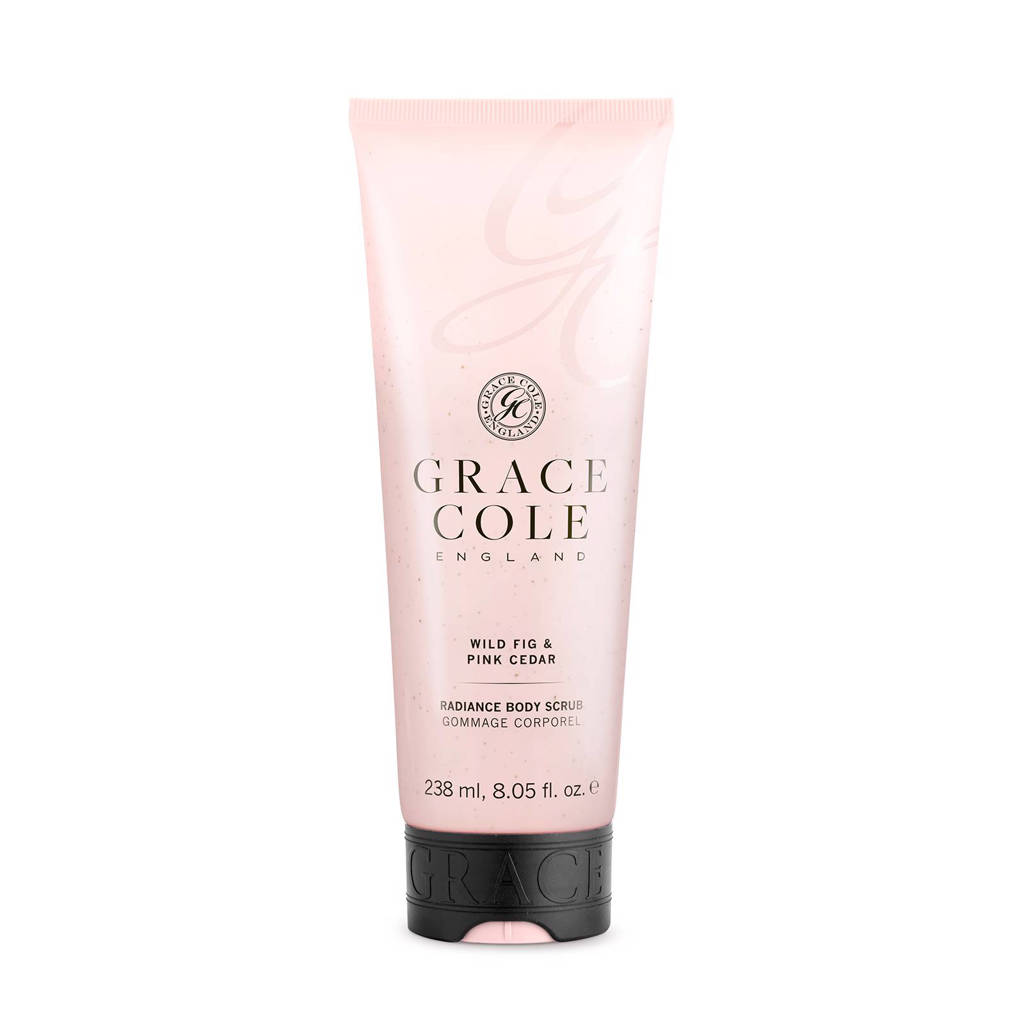 Grace Cole Signature Wild Fig & Pink Cedar 238ml scrub (lichaam)