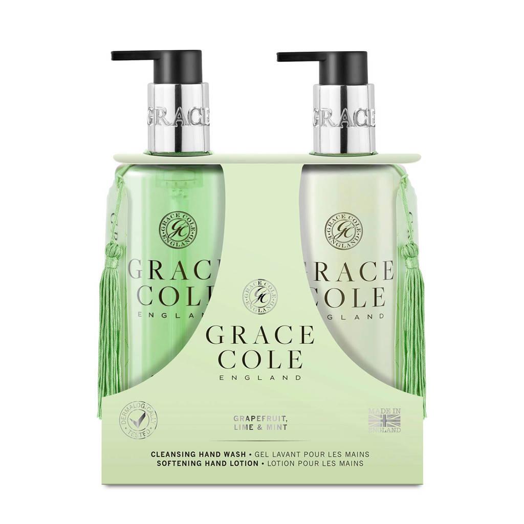 Grace Cole Signature Grapefruit Lime & Mint 300ml Hand Care Duo