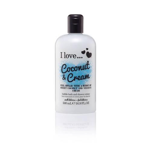 I Love Cosmetics I Love douchegel Coconut Cream 500ml ML