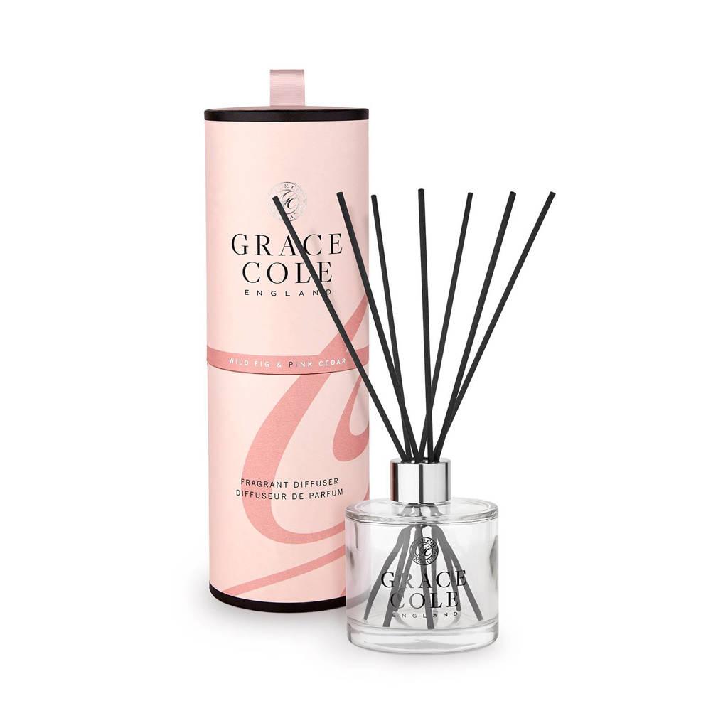 Grace Cole Signature Wild Fig and Pink Cedar 200ml geurstokjes