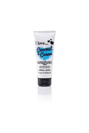I Love handcrème Coconut Cream 75ml ML