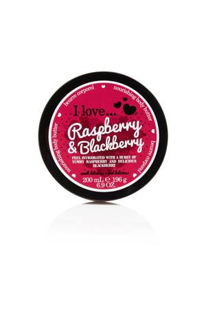 I Love Raspberry Blackb 200ml TPS ML bodybutter