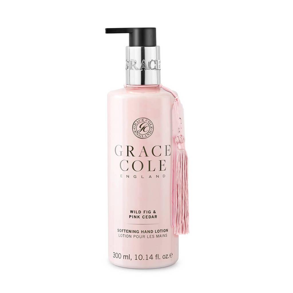 Grace Cole Signature Wild Fig and Pink Cedar 300ml handcrème