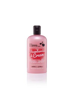 I Love douchegel Strawberries Cream 500ml ML