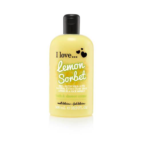 I Love Cosmetics I Love douchegel Lemon Sorbet 500ml ML