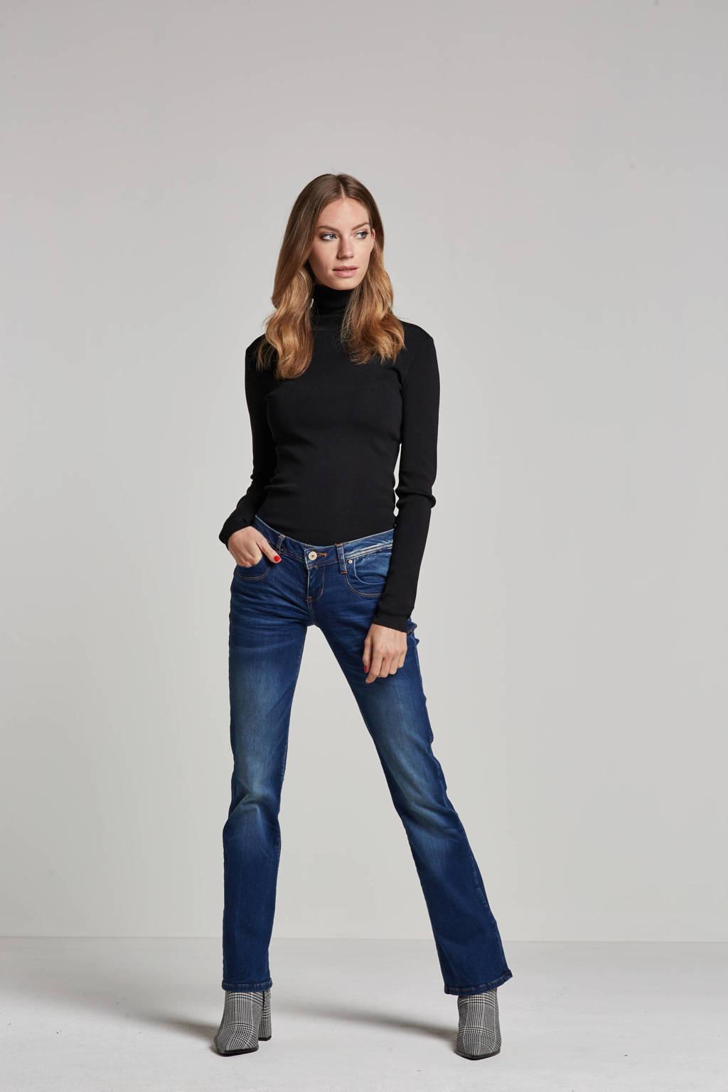 LTB low waist flared jeans blauw, Blauw