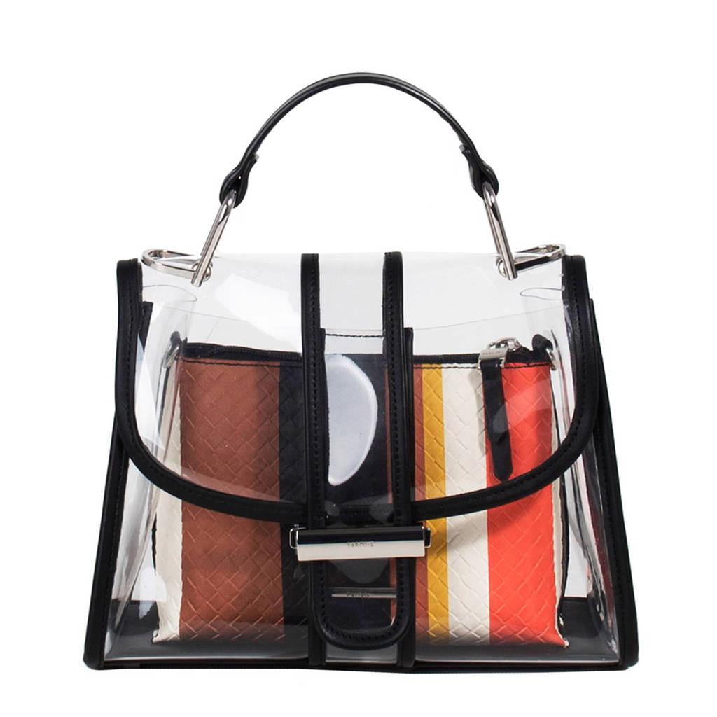 Parfois  handtas met schoudertas, Zwart