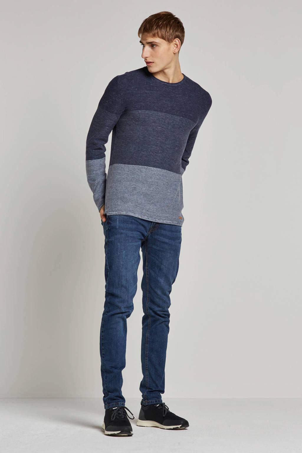 Redefined Rebel regular fit jeans Copenhagen Destroy, Blauw