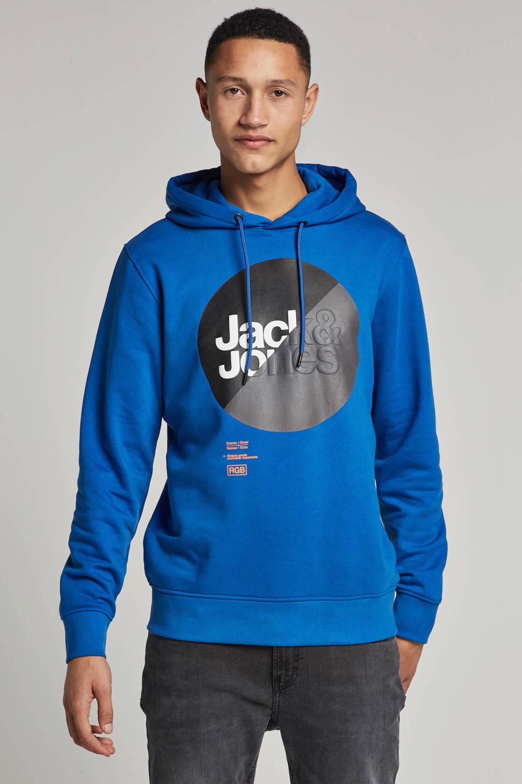 Jack & Jones Core hoodie, Blauw