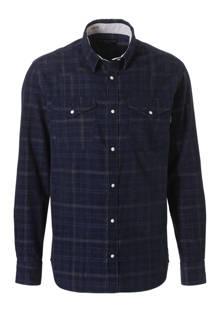 Premium geruit slim fit overhemd