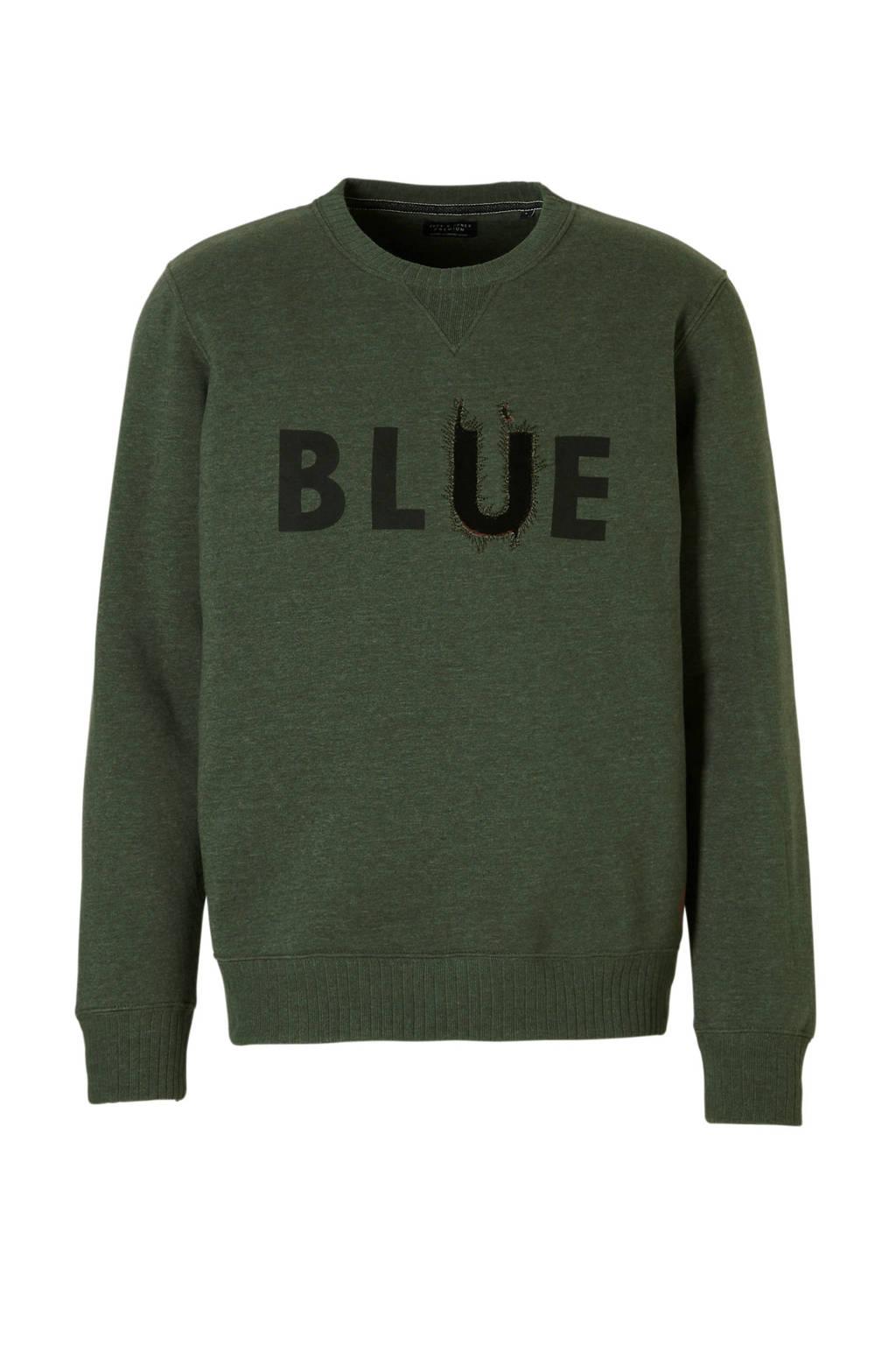Jack & Jones Premium sweater, Donkergroen