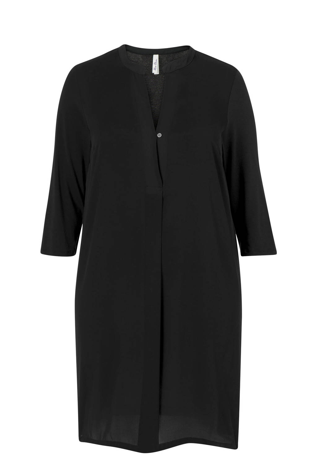 Miss Etam Plus jurk zwart, Zwart