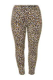 Miss Etam Plus legging met panterprint (dames)