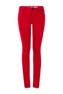Regulier slim fit jeans rood