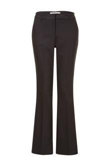 flare pantalon zwart