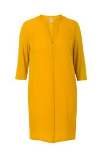 Miss Etam Plus jurk geel