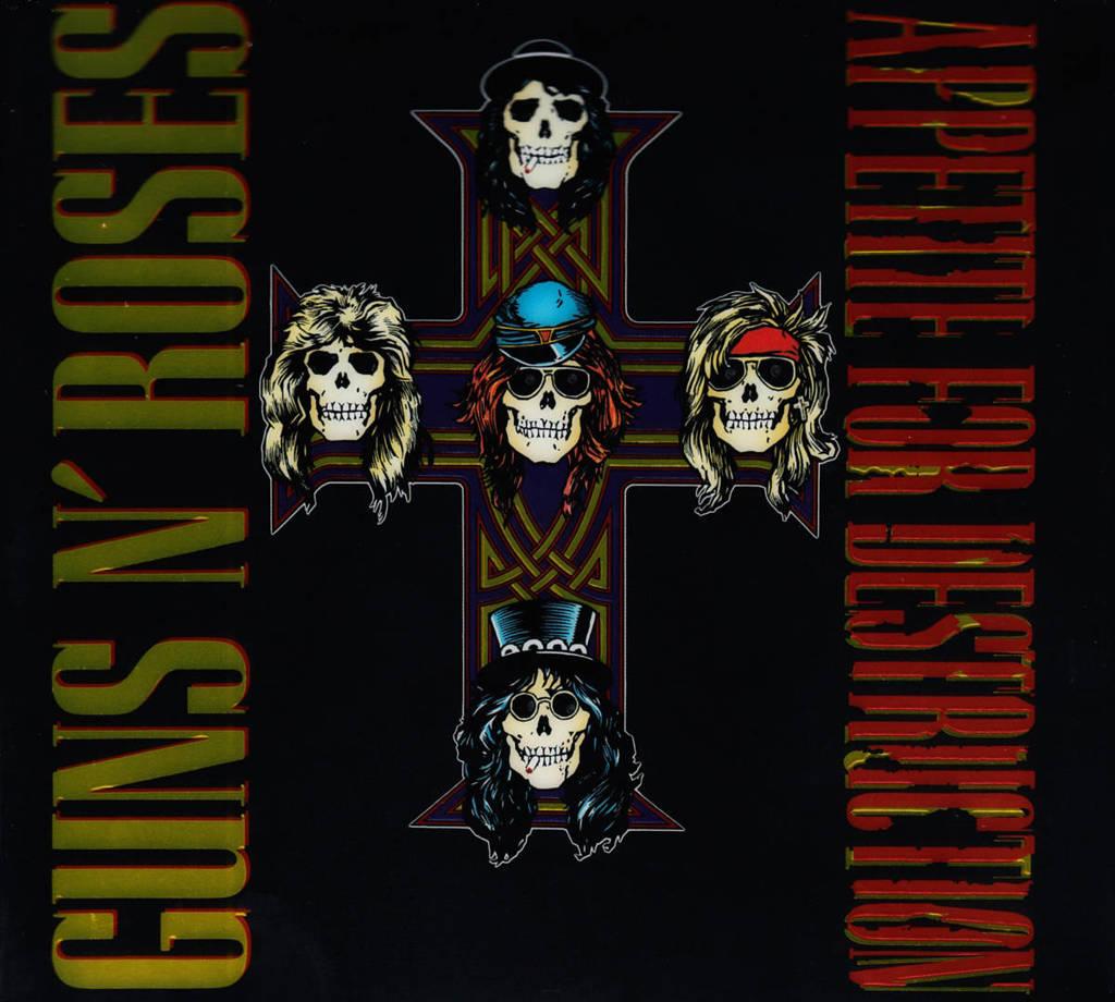 Guns n' Roses - Appetite For Destruction  (CD)