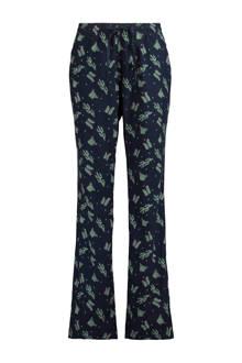 pyjamabroek met cactus Labelle donkerblauw
